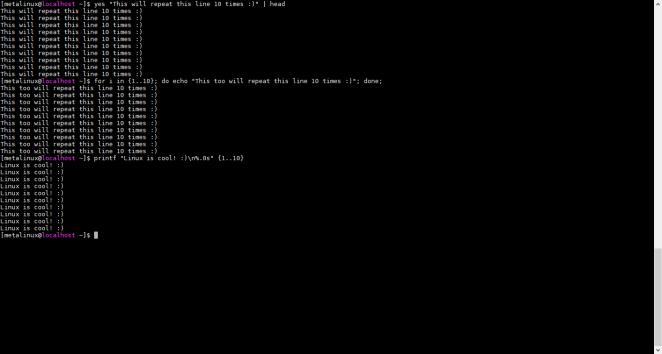 Linux default terminal
